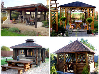 Изготовление из дерева - садовой и дачной мебель любой сложности!  столы, стулья, лавки!