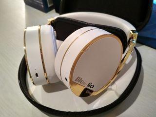 Bluedio Vinyl Plus беспроводные Bluetooth наушники с микрофоном White