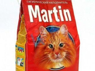 Martin наполнитель для кошачьего туалета (древесный) - 3 кг