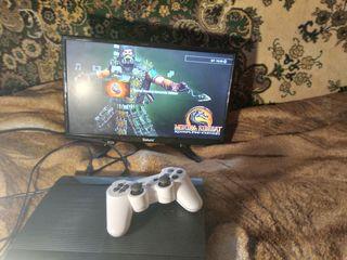 Чистая,ухоженная прошитая Playstation 3 + 19 игрушек на HDD - 2000 лей