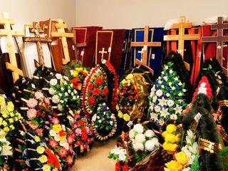 Ритуальные услуги и принадлежности, доставка по Молдове