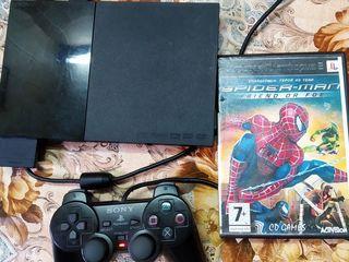 Продам PS 2 Slim (9 модель) чипованная