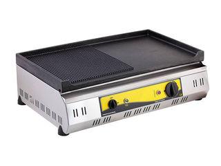 Vind grill electric/gril/fry-top, suprafata din fonta (ciugun)