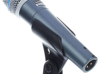 Shure Beta  87a , 57 A(made in Mexic)