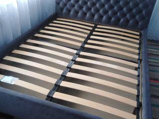 Продам кровать 160 *200 серый цвет подъёмный механизм ящики для белья