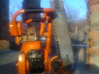 Бензопила «Урал» 2Т- Электрон 1992 года