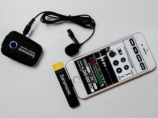 Microfon sistem wireless pentru iPhone Saramonic Blink 500 B3. Livrare gratuita în toată Moldova