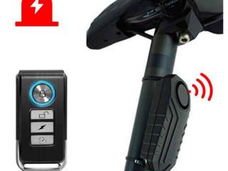 Alarma fără fir cu senzor de vibrație, Беспроводная сигнализация с датчиком вибрации