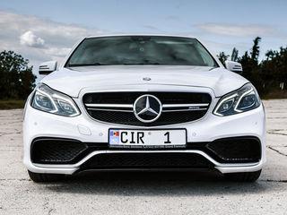 Reducere/скидка! Ianuarie->februarie: Mercedes E63 AMG - 79 €/zi(день) & 15 €/ora(час)