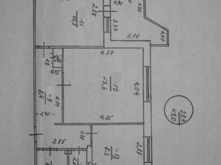 16000 $, двухкомнатная квартира 50 м. 2., 2 эт/9, ул. Вальченко 41