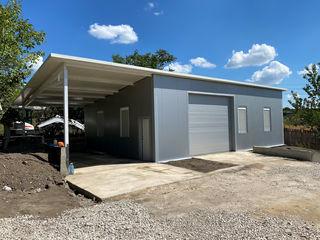 Oferim construcții metalice frigidere,ferme,service auto,hale,centre comerciale,depozite.