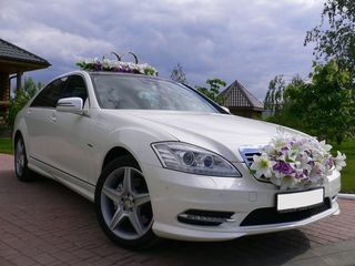 Mercedes-benz s class facelift nunta!! escorta 2;3;4 mercedes alb/negru w221 w222