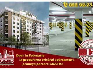 PARCARE SUBTERANĂ GRATIS -OFERTĂ VALABILĂ LUNA FEBRUARIE. APARTAMENTE ÎN S.BUIUCANI, BD. ALBA-IULIA!