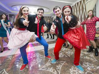Dansatori cu program Rock'n roll - Ansamblul Basarabenii