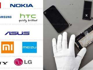 Schimbarea sticlei Apple, Samsung, HTC, Lenovo, Nokia, Meizu, Acer, Alcatel, Asus, Fly si alt.
