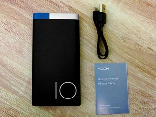 Ультра-тонкий Power bank Rock Odin Power Bank 10000mAh, Pisen 20000mah.
