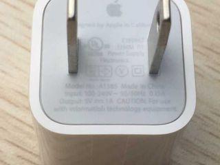 Оригинальный блок питания для iPhone 5/5s/SE 6/6S Plus 7/7 Plus, iPhone 8/8 Plus, iPhone X - 100 лей