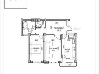 2 odai -71m -etajul 7  -posibil achitarea in rate!!!