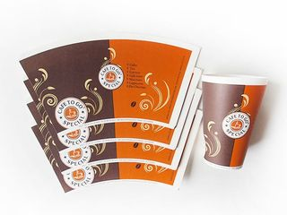 Заготовки/нарезки для производства бумажных стаканов