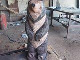 Figuri sculptatîn lemn