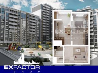 Exfactor Ciocana toate planificările cu 1 cameră in format 3D direct de la compania de construcții.