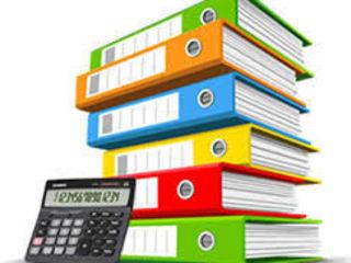 Услуги по бухгалтерскому обслуживанию фирм: восстановление, ведение, отчеты.