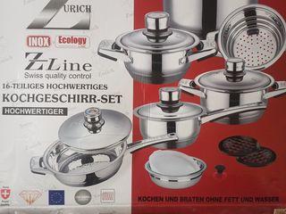 Набор посуды/кастрюль Swiss Zurich - 800 леев