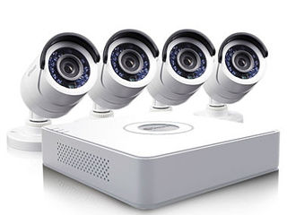 Комплекты видео наблюдения full hd dvr 4/8/16 камер 2mp 5mp кредит!