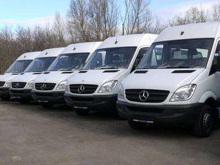 Moldova-Germania zilnic Germania-Moldova zilnic transport pasageri/colete 24/24 7locuri/2soferi