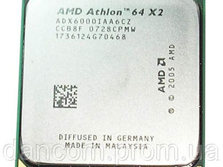 Athlon 64 X2 6000+ Частота, МГц 3000 89 Вт