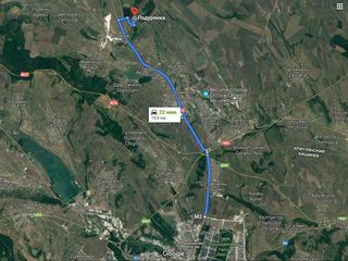 Дачный участок 6 соток, в 20 минут от Кишинёва