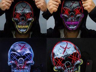 Маски для Хэллоуин (Halloween)
