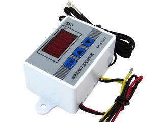 Термостаты на 220V, на 12V Термореле Терморегуляция Термометры электронные по 79 лей Выносной датчик