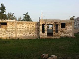 Недостроенный дом в начале села Гыска (Бендеры)