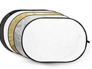 Отражатель 5-в-1: reflector oval reflector 5 in 1 Рассеиватель (полупрозрачный)