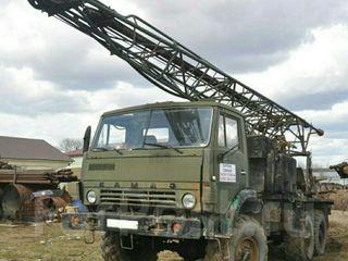Буровая установка УРБ-2.5, на базе КАМАЗ – 4310. 13 000 евро.