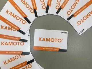 Card de reducere/Discount Card KAMOTO