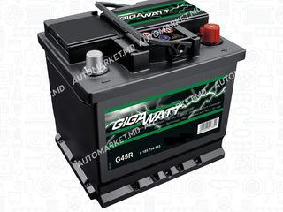 Авто аккумулятор Gigawatt! Чехия! Оригинал! Спец цена! 2 года гарантия! Бесплатная доставка!
