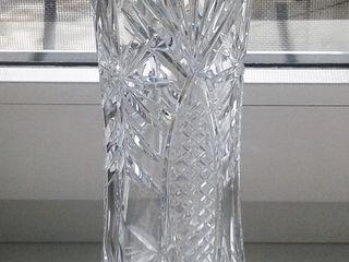 Хрустальная ваза в идеальном состояний!