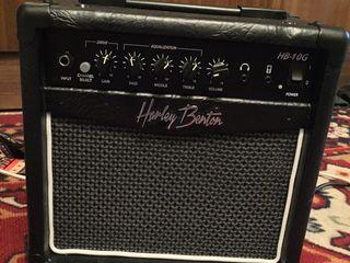 Новый гитарный усилитель Harley Benton HB-10G