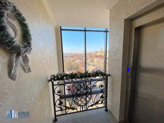 Apartament cu două niveluri + terasă, nou casa cu 5 etaje, 69000 €, bloc locativ la Buiucani