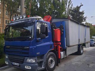 Transport cu manipulator incarcare si descarcarea mărfurilor
