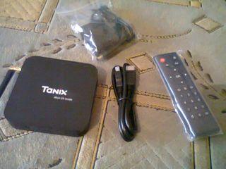T 9 Android 8.1 Smart ТВ Box RK3328 4G DDR3 32GB EMMC ROM. IP телевидения 4 K 3D H. 265 Wi-Fi. BT 4