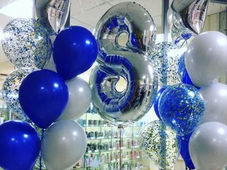 Летающие букеты и фигуры из воздушных шаров для любого праздника.Чекана