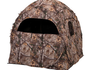 Ameristep doghouse ground hunting blind portable pop up camo tent evolved ingenuity 1rx2s010
