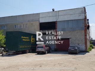 Se vinde spațiu de depozit și producere pe strada Industrială