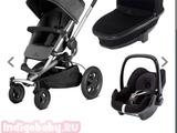 Детская коляска Qyinny Buzz 4 Xtra (3 в 1)