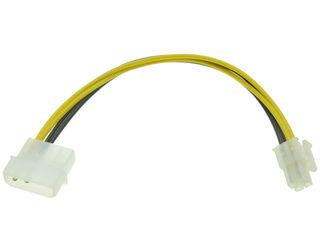 Кабель-переходник из molex to 4 pin CPU
