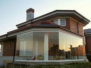 Sistem cu geamuri culisante pentru balcon, terase. Безрамное остекление террас и веранд, раздвижное