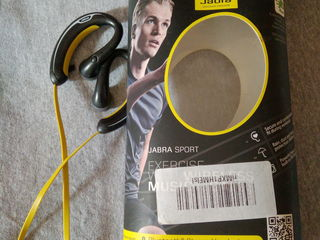 Беспроводные bluetooth наушники Jabra Sport  Регулировка громкости Переключения треков FM-радио  Сос